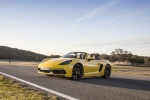 2018 Porsche 718 Boxster GTS in Racing Yellow - Static Front Left Three-quarter View