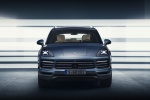 2019 Porsche Cayenne AWD in Biscay Blue Metallic - Static Frontal View