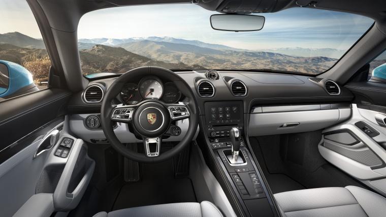 2018 Porsche 718 Cayman S Cockpit Picture