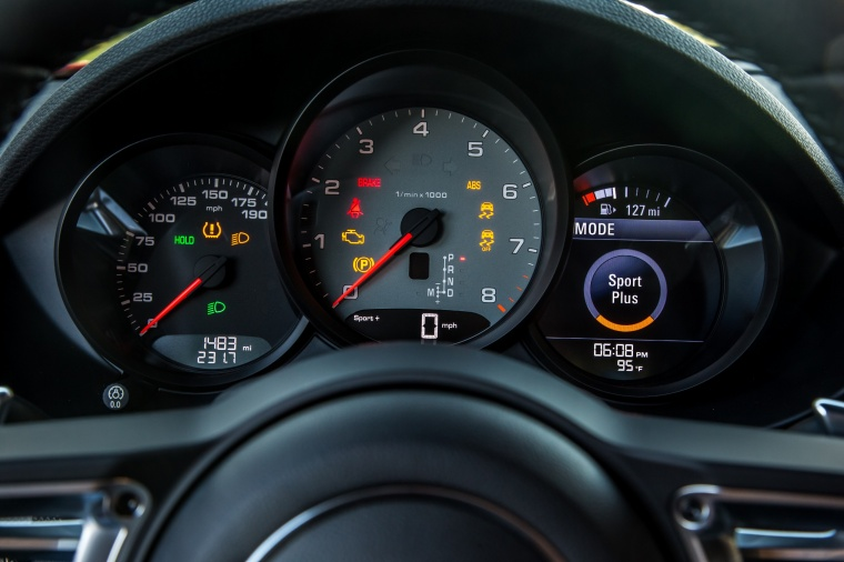 2018 Porsche 718 Cayman S Gauges Picture