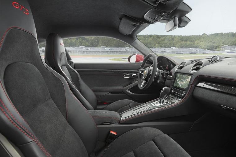 2018 Porsche 718 Cayman GTS Front Seats Picture