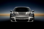 2010 Porsche Panamera Turbo in GT Silver Metallic - Static Frontal View