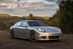2014 Porsche Panamera 4S in GT Silver Metallic - Static Front Right Three-quarter View