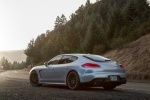 2014 Porsche Panamera 4S in GT Silver Metallic - Static Rear Left Three-quarter View