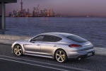 Picture of 2014 Porsche Panamera Turbo in Rhodium Silver Metallic