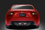 2014 Scion FR-S Coupe in Firestorm - Static Rear View