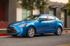 2016 Scion iA Sedan in Sapphire from a front left three-quarter view