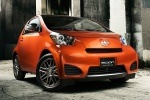 2013 Scion iQ in Hot Lava - Static Front Right Three-quarter View