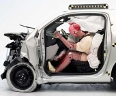 2015 Scion iQ IIHS Frontal Impact Crash Test Picture