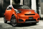 2015 Scion iQ in Hot Lava - Static Front Right Three-quarter View