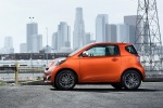 2015 Scion iQ in Hot Lava - Static Left Side View