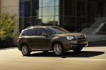 2018 Subaru Forester Touring in Sepia Bronze Metallic - Driving Front Right Three-quarter View