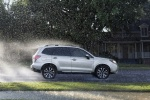 2018 Subaru Forester in Ice Silver Metallic - Driving Right Side View