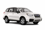 2018 Subaru Forester 2.5i in Crystal White Pearl - Static Front Right Three-quarter View
