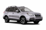 2018 Subaru Forester 2.5i Premium in Ice Silver Metallic - Static Front Right Three-quarter View