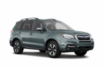 2018 Subaru Forester 2.5i Limited in Jasmine Green Metallic - Static Front Right Three-quarter View
