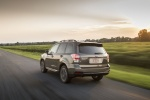 2018 Subaru Forester 2.0XT Touring in Sepia Bronze Metallic - Driving Rear Left View