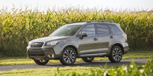 Research the 2018 Subaru Forester
