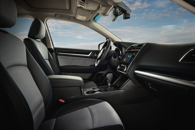 2018 Subaru Legacy 2.5i Front Seats Picture