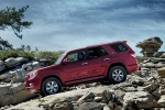 2010 Toyota 4Runner SR5 in Salsa Red Pearl - Static Left Side View