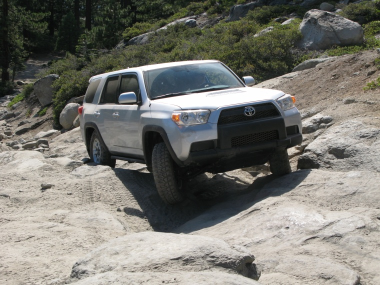 2011 toyota 4runner trail in classic silver metallic color. Black Bedroom Furniture Sets. Home Design Ideas