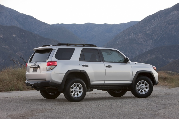 2012 Toyota 4runner Trail In Classic Silver Metallic Color