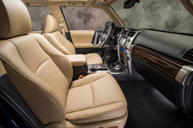 Picture of a 2016 Toyota 4Runner Limited's Front Seats in Sand Beige