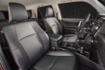 Picture of a 2016 Toyota 4Runner Trail's Front Seats in Black