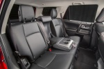 Picture of a 2016 Toyota 4Runner Trail's Rear Seats in Black