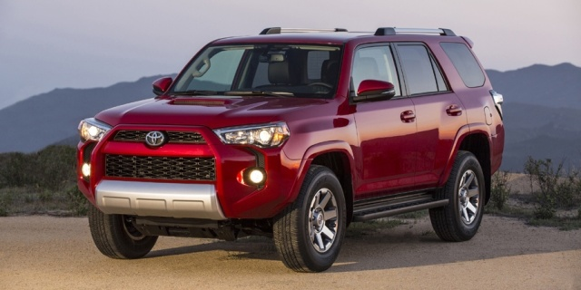 2016 Toyota 4Runner Pictures