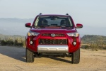 Picture of a 2017 Toyota 4Runner TRD Off Road in Barcelona Red Metallic from a frontal perspective