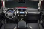 Picture of a 2017 Toyota 4Runner TRD Off Road's Cockpit in Black
