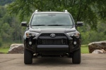 Picture of a 2017 Toyota 4Runner SR5 in Midnight Black Metallic from a frontal perspective