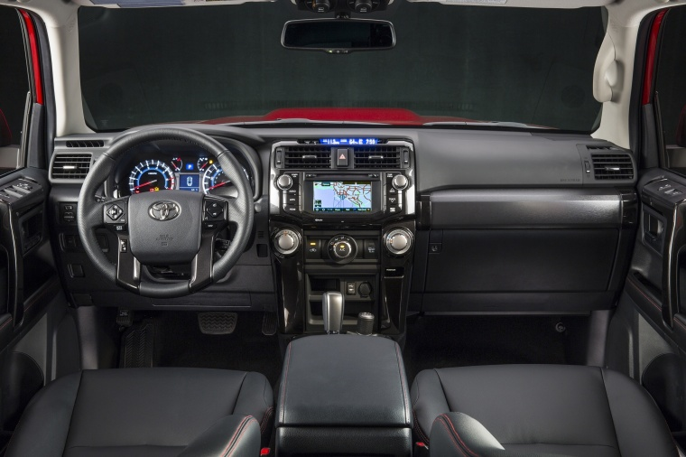 2018 Toyota 4Runner TRD Off Road Cockpit Picture