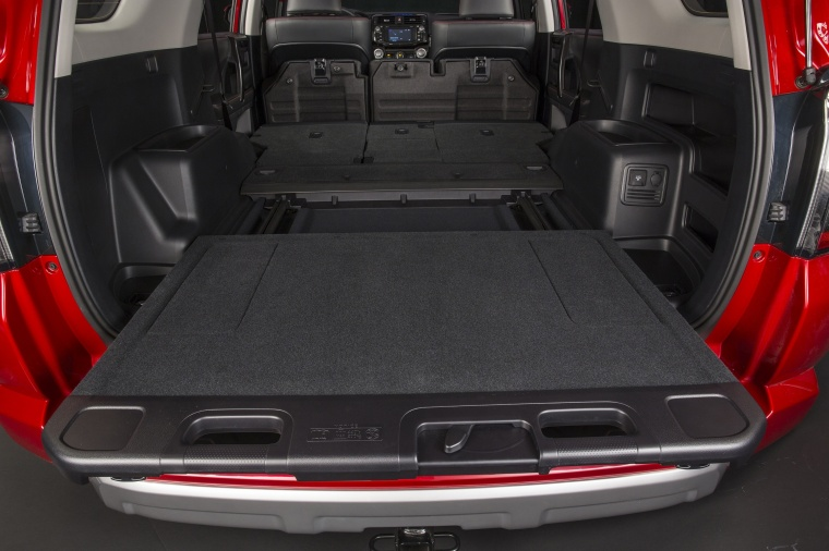2018 Toyota 4Runner TRD Off Road Trunk Picture