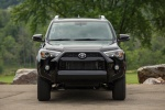 Picture of a 2019 Toyota 4Runner SR5 in Midnight Black Metallic from a frontal perspective