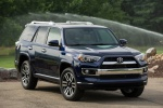 Picture of a 2019 Toyota 4Runner Limited in Nautical Blue Pearl from a front right perspective