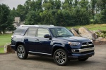 Picture of a 2020 Toyota 4Runner Limited in Nautical Blue Pearl from a front right three-quarter perspective