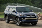 Picture of a 2020 Toyota 4Runner Limited in Nautical Blue Pearl from a front right perspective