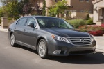 2011 Toyota Avalon in Magnetic Gray Metallic - Driving Front Right Three-quarter View