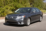 2011 Toyota Avalon in Magnetic Gray Metallic - Driving Front Left Three-quarter View