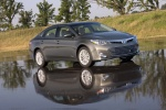 2013 Toyota Avalon Hybrid in Magnetic Gray Metallic - Static Front Right Three-quarter View