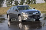 2015 Toyota Avalon Hybrid in Magnetic Gray Metallic - Static Front Right View