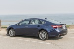 2017 Toyota Avalon Limited in Parisian Night Pearl - Static Rear Left Three-quarter View