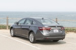 2017 Toyota Avalon Hybrid Limited in Magnetic Gray Metallic - Static Rear Left View
