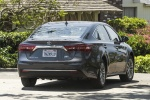 2017 Toyota Avalon Hybrid Limited in Magnetic Gray Metallic - Driving Rear Right View