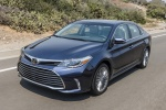 2018 Toyota Avalon Limited in Parisian Night Pearl - Driving Front Left View