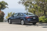 2018 Toyota Avalon Limited in Parisian Night Pearl - Driving Rear Left Three-quarter View