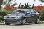 2018 Toyota Avalon Hybrid Limited in Magnetic Gray Metallic - Driving Front Left Three-quarter View