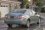 2010 Toyota Camry LE in Magnetic Gray Metallic - Static Rear Three-quarter View